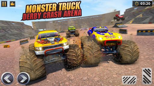Real Monster Truck Demolition Derby Crash Stunts apkpoly screenshots 3