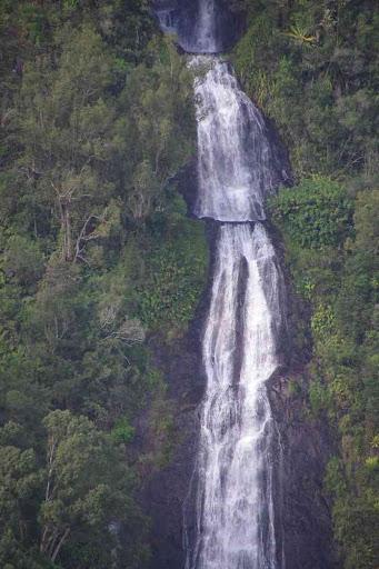 La cascade du voile de la Mariée.