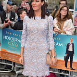OIC - ENTSIMAGES.COM - Linzi Stoppard at the  A Hologram For The King - UK film premiere 25th April 2016 Photo Mobis Photos/OIC 0203 174 1069