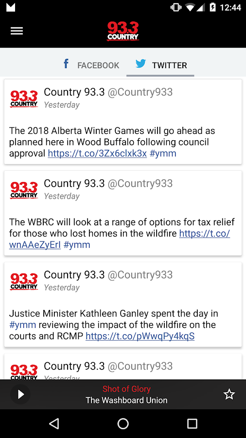 COUNTRY 93.3 Fort McMurray- screenshot