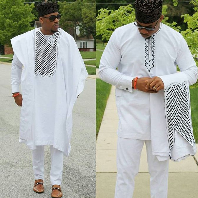 Latest Agbada Styles and Designs for 2017 - Styles 7