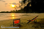 Sunset from Koh Chang Paradise Resort & Spa
