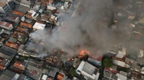 Bakar Bantal, Kebakaran di Taman Sari Gegara Pasutri Berantem di Kontrakan