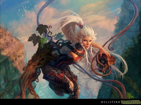 Romantic Sorceress Dance, Fantasy Girls 1