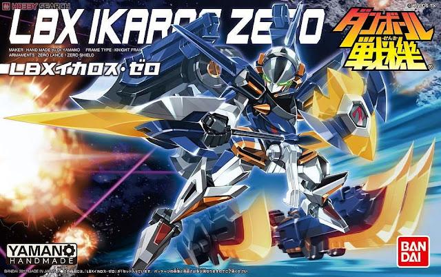 Bao bì sản phẩm Mô hình Đấu sĩ LBX Ikaros Zero
