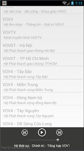 VOV Việt screenshot