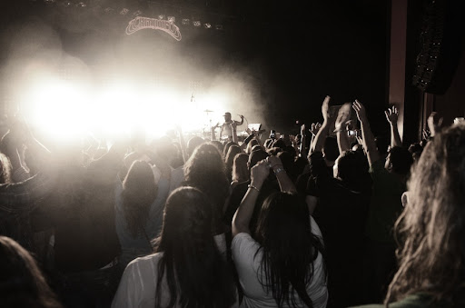 Chromeo Crowd by Robby Campbell