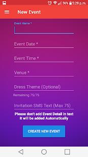 Invitation appinvitation smsreminderrsvpevent android apps invitation appinvitation smsreminderrsvpevent screenshot thumbnail stopboris Image collections