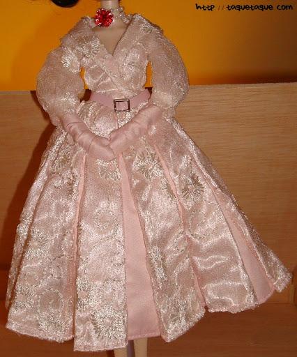 pullip princess ann vacaciones en roma roman holiday detalle vestido elegante gargantilla