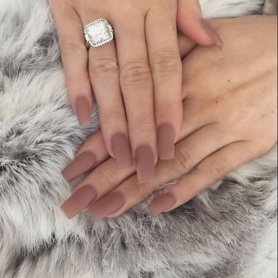 40+ Best Shades Of Nude Nails Trend - Nails C