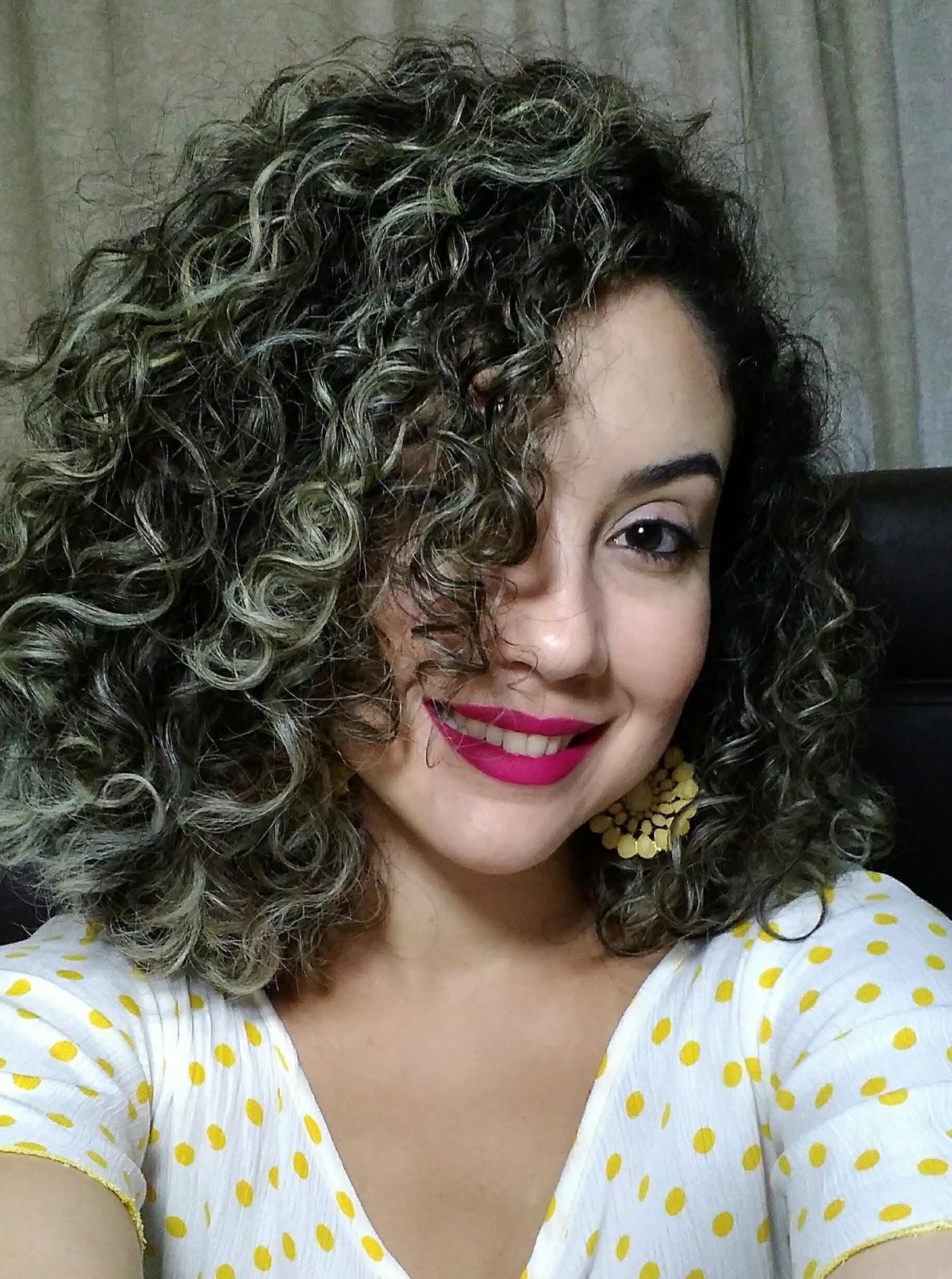 Extremamente Renata Campelo Blog: Novo corte + finalização cabelo cacheado curto DD51