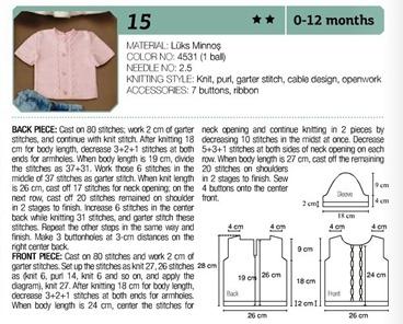 Crochet dress 0-12 months 04