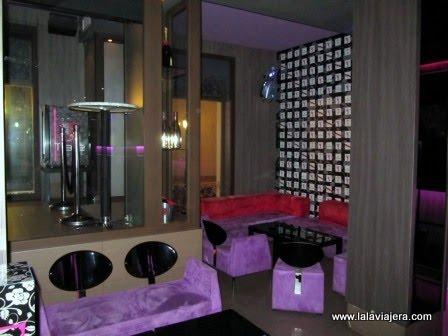 De copas en el Lounge Bar Tiare, Albacete