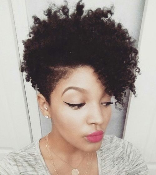 2018 Natural Hairstyles For Black Women Afro Haircuts
