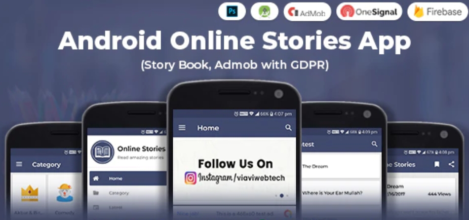 Android  Story Book App  Source Code