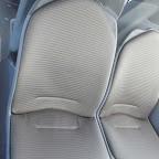 Het interieur van de Mercedes Citaro