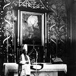 092 Картина Wizja św. Huberta Kazimierza Sichulskiego в костеле Ельжбеты. 1926г..jpg