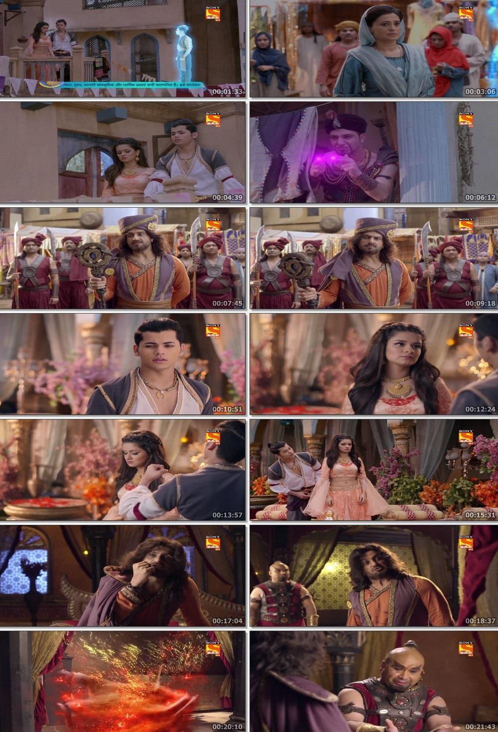 Screenshots Of Hindi Show Aladdin – Naam Toh Suna Hoga 2019 Episode 284 300MB 720P HD