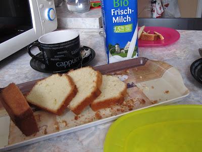 Plum-cake alla panna