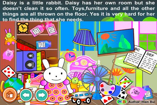 The tidy little rabbit