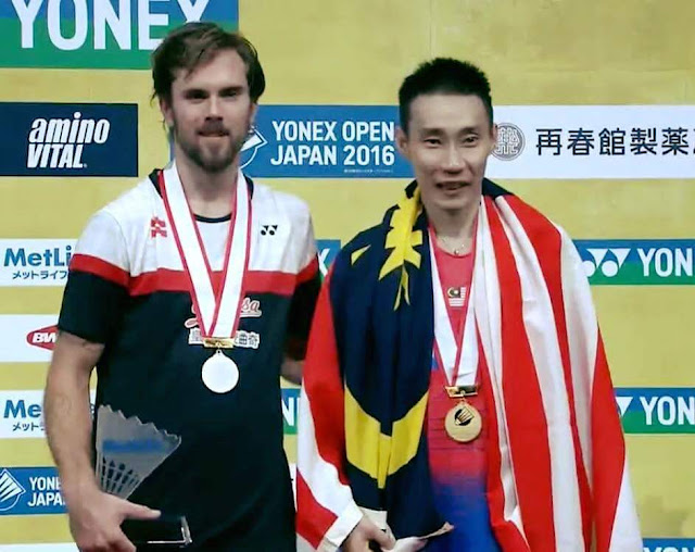 Lee Chong Wei Juara Badminton Open Japan