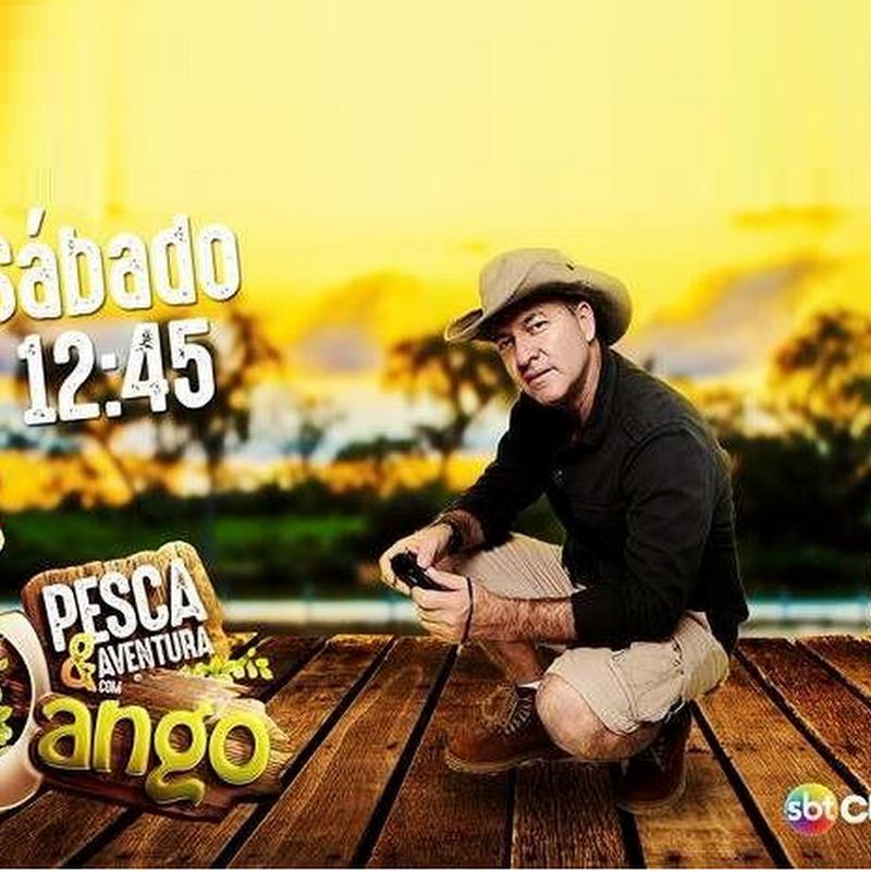 """Programa """"Pesca & Aventura com Jango"""" do SBT Cuiabá visitou as belezas naturais de Rosário Oeste."""