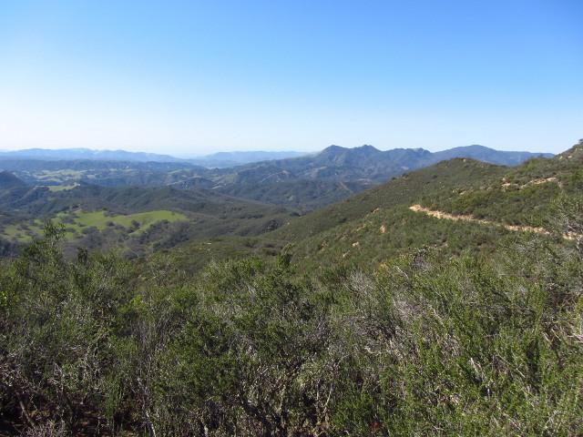 trail along Pine Ridge
