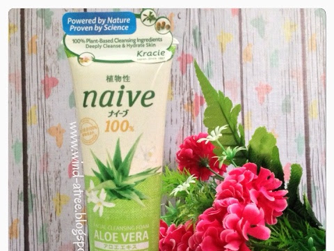 [Review] Naive Facial Cleansing Foam Aloe Vera