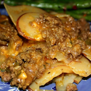 Meat and Potatoes Casserole.