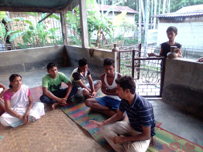 Action planning at Hiragata village