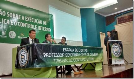 Inicia capacitação sobre despesa pública e controle interno do TCERN