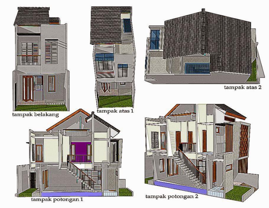 Ide Pengembangan Rumah di Lahan Sempit vano