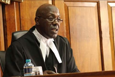 Justice Sankale Ole Kantai in High court. PHOTO | BMS
