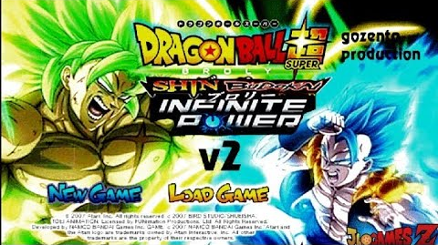 DOWNLOAD!! INCRÍVEL (MOD) SHIN BUDOKAI BROLY IFINITY POWER V2 HD PARA CELULARES ANDROID (PPSSPP)