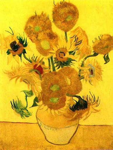 Los girasoles de Van Gogh 2