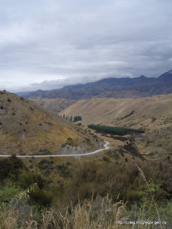 Road on the way to Molesworth Homestead