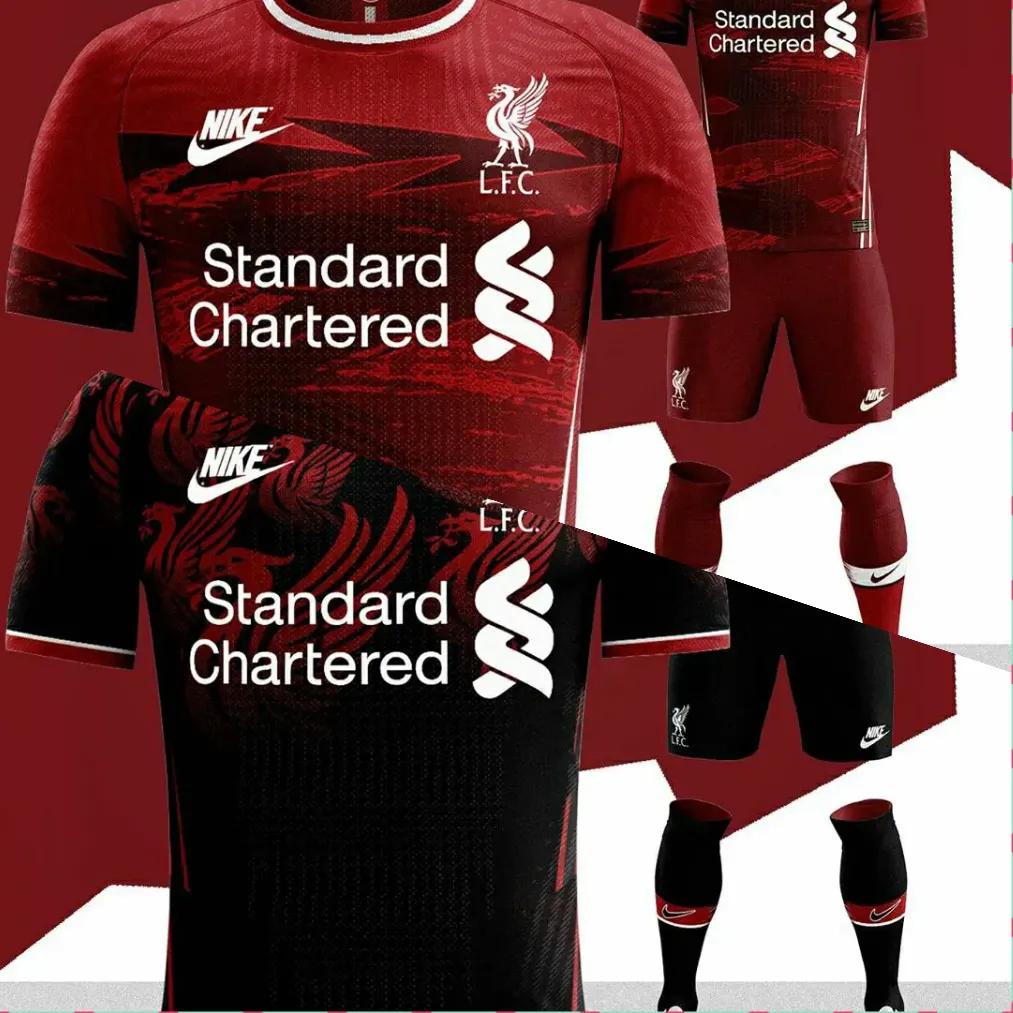 jersey liverpool musim 2020-2021, konsep jersey, jersey terbari liga inggris