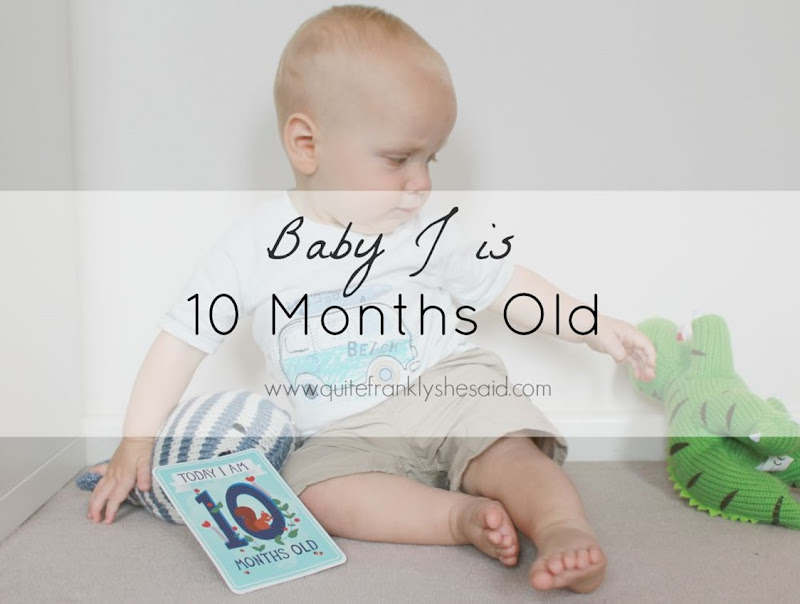 baby 10 month update