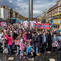 Protest pentru familia Bodnariu, 16 aprilie 2016