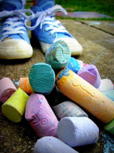 Make Eggshell Chalk For Ostara