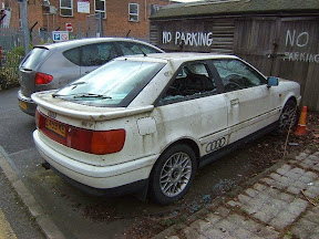 Abandoned Audi S2