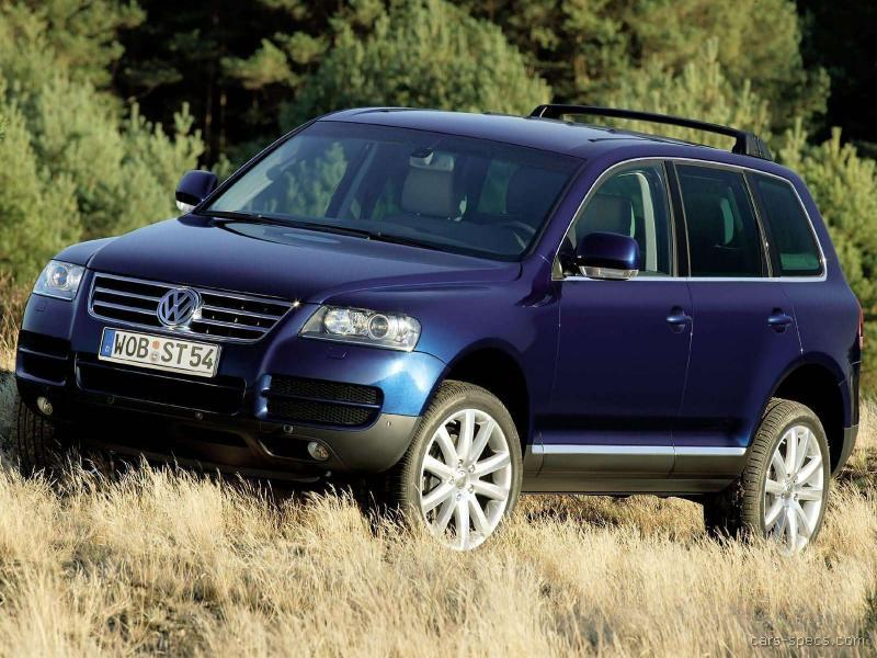 2004 volkswagen touareg diesel specifications pictures prices. Black Bedroom Furniture Sets. Home Design Ideas