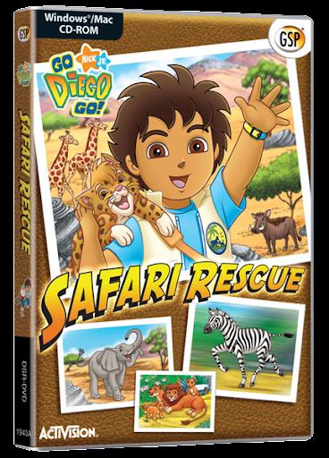 SAFA Go Diego Go Rescate en el safari (2007) DVDRip Audio Latino
