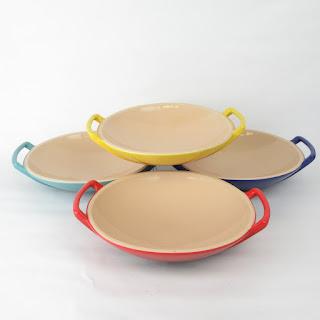 Le Creuset Wok Stoneware Set