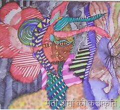 मैती शर्मा की कलाकृति