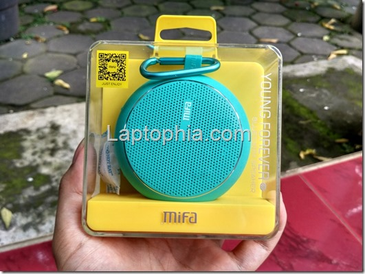Unboxing Mifa F1 Outdoor Bluetooth Speaker