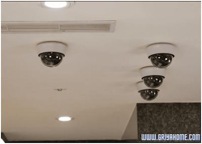 CCTV Bentuk Dome