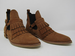 Freda Salvadore Suede Kiltie Boots