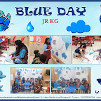 Blue Day Celebration by Jr. Kg Section (2018-19), Witty World, Goregaon East