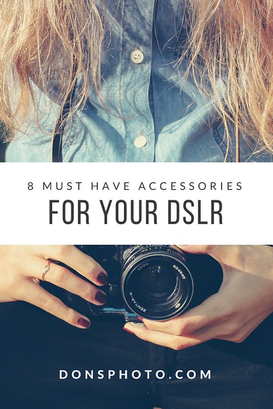 8 Must Have Accessories for your DSLR camera